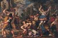 Pietro da Cortona~Rape of the Sabines