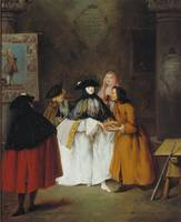Pietro Longhi~The soothsayer