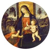 Pinturicchio~The Virgin and Child with the Infant