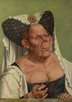 Quentin Matsys~An Old Woman ('The Ugly Duchess')