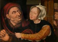 Quentin Matsys~Ill-Matched Couple