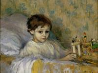 Ricard Canals~Sick Child (Octavi, the artist's son