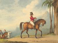 Richard Westall~Sir John Floyd on Horseback