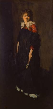 Robert Henri~The Art Student (Miss Josephine Nivis