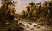Robert S. Duncanson~On the St. Annes, East Canada