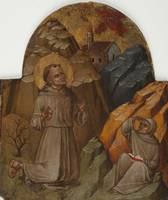 Romagna School~St. Francis Redceiving the Stigmata