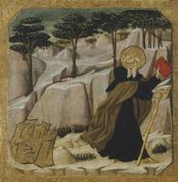 Giovanni di ser Giovanni Guidi~Saint Anthony Abbot