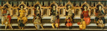 Giovanni di ser Giovanni Guidi~The Seven Virtues