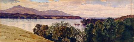 Samuel Colman (1832-1920)~Catskills from Tarrytown