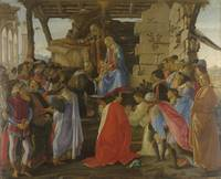 Sandro Botticelli~Adoration of the Magi