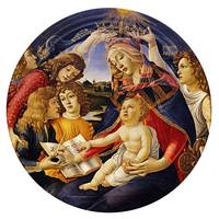 Sandro Botticelli~Madonna of the Magnificat