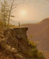 Sanford Robinson Gifford~A Ledge on South Mountain
