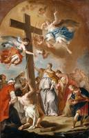 Sebastiano Ricci~The Invention of the Cross by Emp