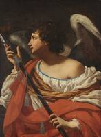 Simon Vouet~Angel with a Spear