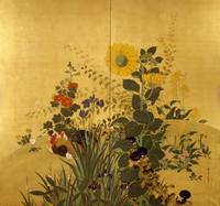 Suzuki Kiitsu~Birds and Flowers of the Four Season