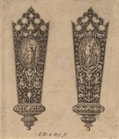 Theodor de Bry~Ornament for Knife Handle