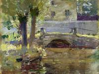 Theodore Robinson~The Bridge at Giverny