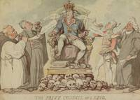 Thomas Rowlandson~The Privy Council of a King