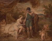 Thomas Stothard~An Unfinished Study of Venus and A