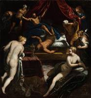 Tintoretto~Hercules Expelling the Faun from Omphal