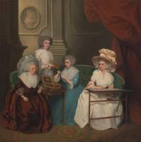 Unknown artist~Lady Jane Mathew and Her Daughters
