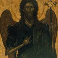 """""""unknown artist~St John the Baptist"""" by Old_master"""