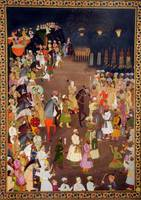 Unknown~Mughal Emperor Shahjahan in the mariage pr
