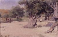 Vasily Polenov~Olive Trees in the Holy Land