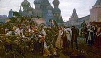 Vasily Surikov~Morning of the Execution of the Str