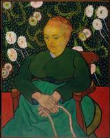 Vincent van Gogh~La Berceuse (Woman Rocking a Crad