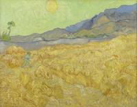 Vincent van Gogh~Wheatfield with a reaper