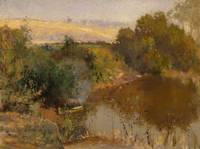 Walter Withers~The Yarra below Eaglemont