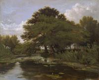 William Alfred Delamotte~On the Isis, Waterperry,