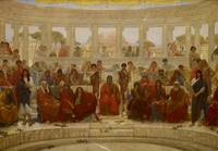 William Blake Richmond~An Audience in Athens durin