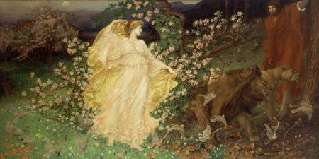 William Blake Richmond~Venus and Anchises