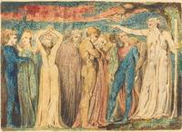 William Blake~Joseph of Arimathea Preaching to the