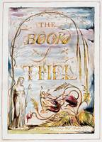 William Blake~The Book of Thel (frontispiece)