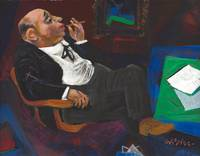 William Gropper~The Southern Senator