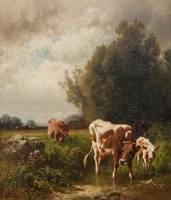 William Hart~Cattle and Landscape