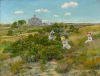 William Merritt Chase~The Bayberry Bush (Chase Hom