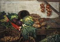 William York Macgregor~The Vegetable Stall