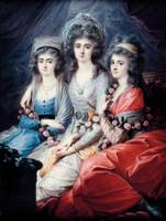 Wincenty de Lesseur~Three sisters, Countesses Thun