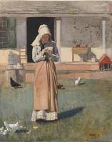 Winslow Homer~A Sick Chicken