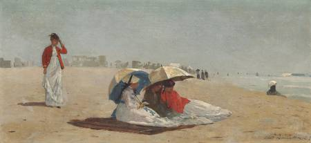 Winslow Homer~East Hampton Beach, Long Island