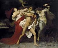 Adolphe-William Bouguereau~Orestes Pursued by the