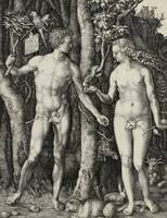 Albrecht Dürer~Adam and Eve