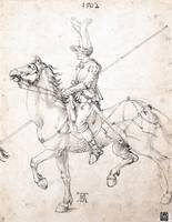 Albrecht Dürer~Lancer on Horseback