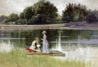 Alfred Thompson Bricher~A Pleasant Afternoon
