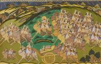 Ali~Maharaja Takhat Singh on a Hunt with Royal Wom
