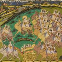 """""""Ali~Maharaja Takhat Singh on a Hunt with Royal Wom"""" by Old_master"""